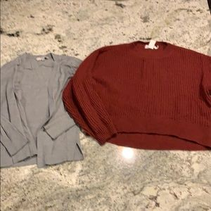 Lot of sweaters size small